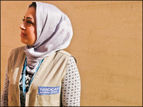 "Rana, 30, ""Victim Assistance"" Project Manager"