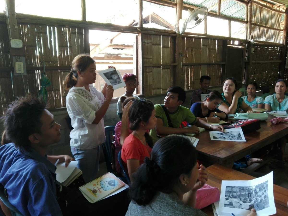Growing Together training in Mae La refugees camp. © Handicap International