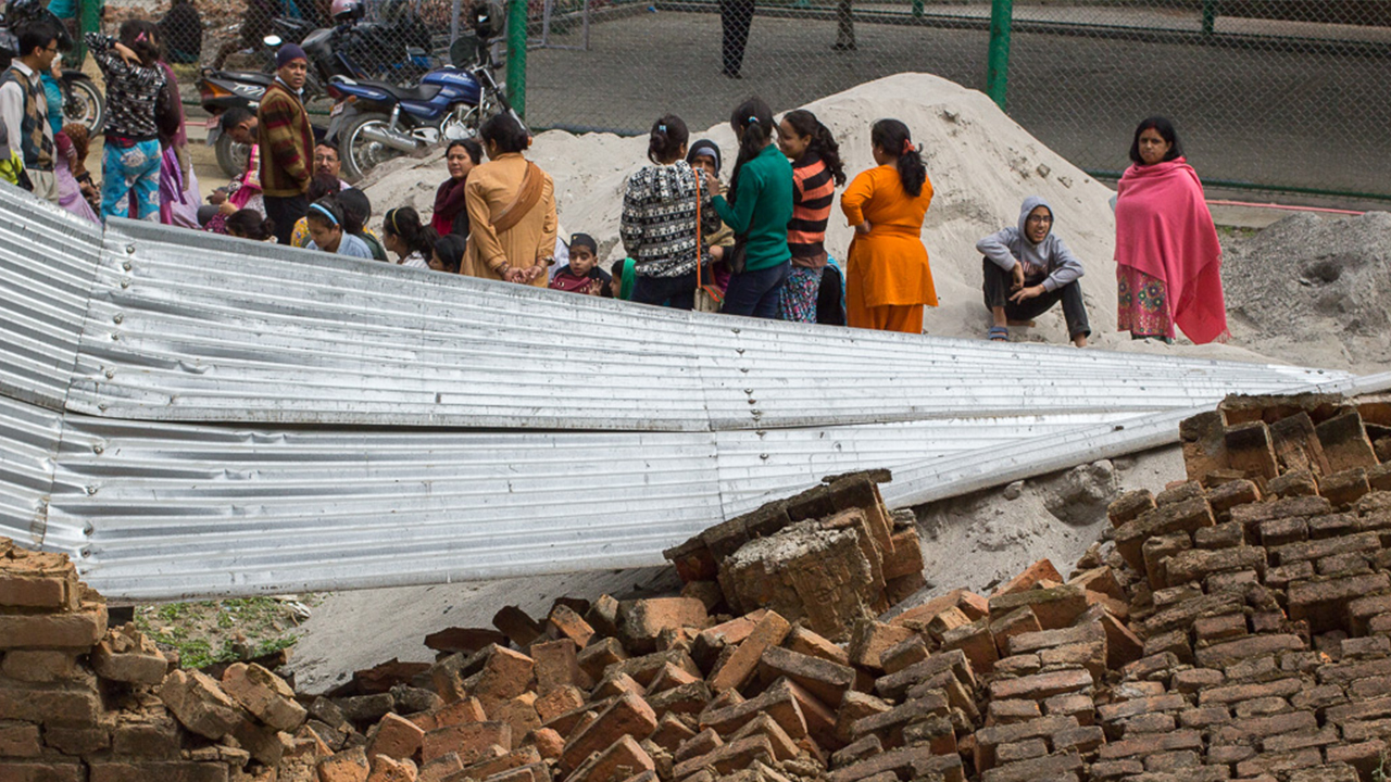 Handicap International took immediate action to help victims of the earthquake that hit Nepal on 25th April 2015. The organisation also works to improve the living conditions of people with disabilities and to promote their inclusion in communities.