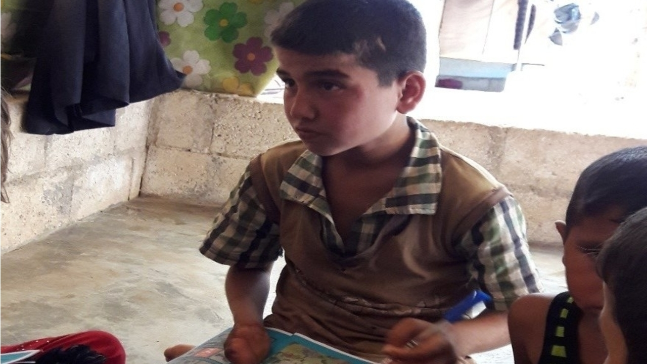 Shahoud and the Team of Heroes take action in Syria