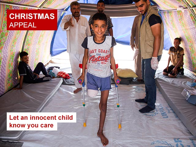 Christmas appeal - Let an innocent child know you care