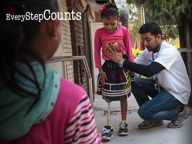 Every Step Counts - Help a child like Nirmala