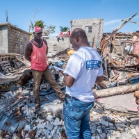 Archive photo: Assessment after Hurricane Matthew in Haiti