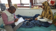 Injured after a bombing on her hometown, this young woman was supported by Handicap International through the provision of an assistive device and psychosocial support sessions.
