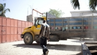 Archive photo: HI's logistics operation in Haiti