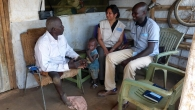Aleema Shivji visiting our projects in South Sudan.