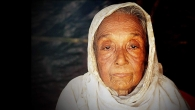 Zibon Sona, an 80 year old widow who was forced to leave Myanmar in September 2017.