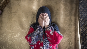 Ranim, a Syrian refugee, was displaced multiple times as a resulty of bombings. She now lives in Lebanon's Beqa'a Valley