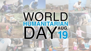 World Humanitarian Day visual