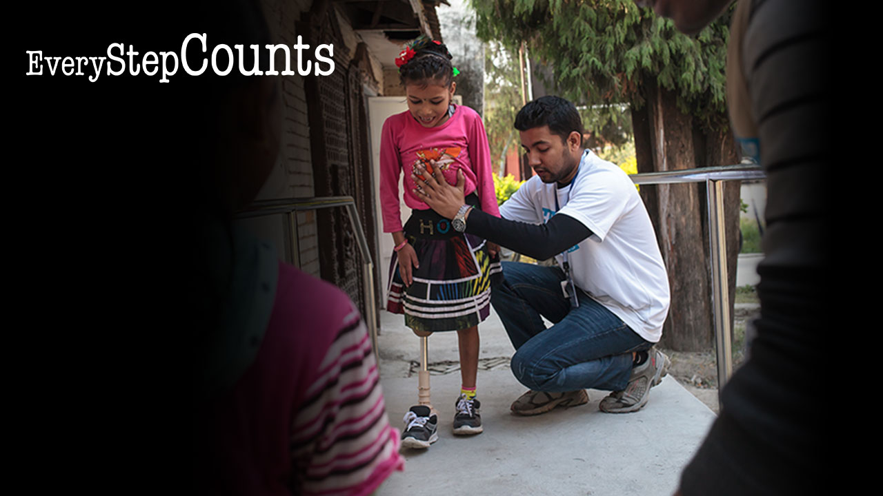 ry Step Counts - Help a child like Nirmala