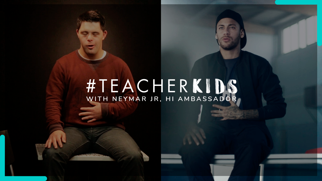 Neymar Jr. launches Teacher Kids campaign