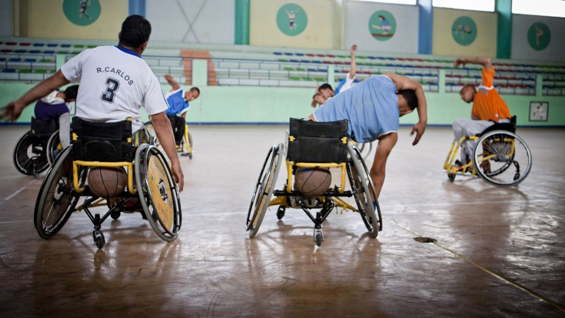 Wheelchair basketball, Humanity & Inclusion Algeria