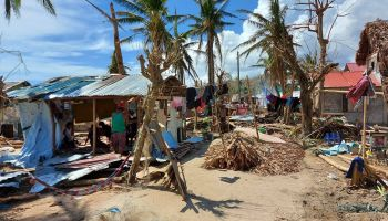 HI assisting people affected by Typhoon Goni, the most powerful storm of 2020 in the Philippines