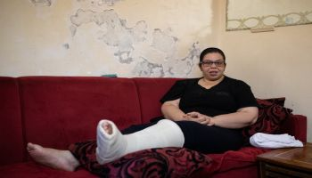 Beirut: Nada, injured in the explosions, received support from HI's teams