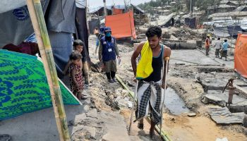 HI assists Rohingya refugees after fire destroys a camp in Bangladesh