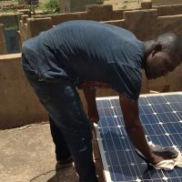 Solar Electricity: Dicko works for a brighter future in Mali