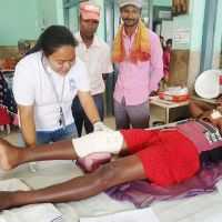 Nepal: HI provides emergency care to tornado victims