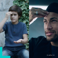 Neymar Jr supports the Teacher Kids campaign