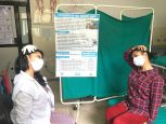 Rehabilitation session with HI during Covid-19 epidemic in Nepal
