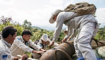Clearance in Laos: Our demining teams are not giving up!