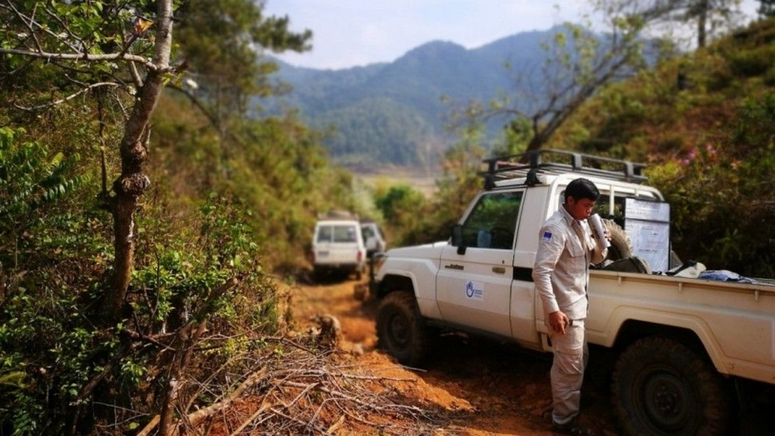 HI mine clearance operation in Laos