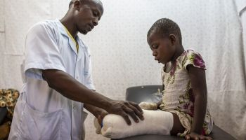 HI in North Kivu: Emergency rehabilitation care for more than 1,600 conflict-affected people