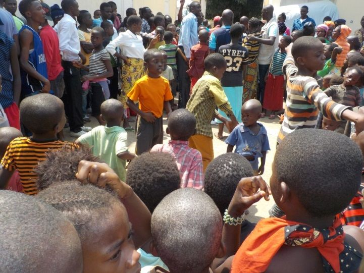 Congolese refugees in Burndi