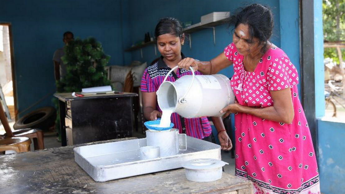 Women from Sri Lanka received HI support to have their own economic project