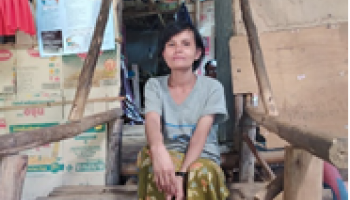 HI provides refugees in Umpiem Mai camp in Thailand with information on Covid-19