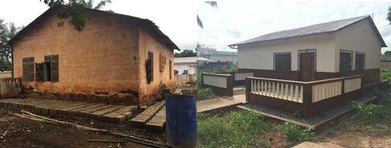 Renovation of the pharmaceutical storage unit at Tabligbo district hospital, Togo