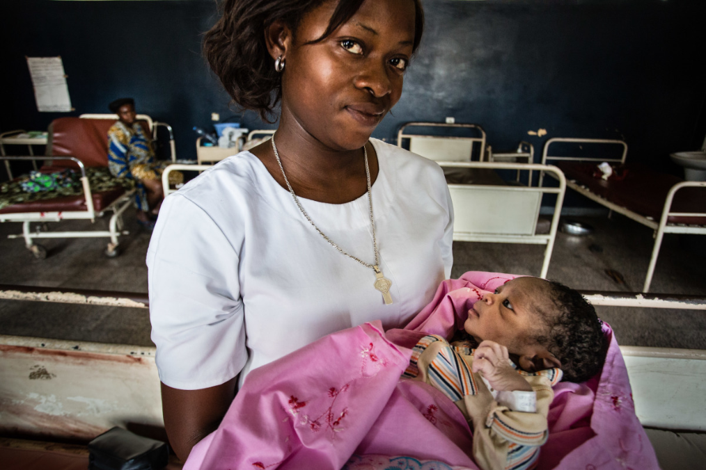 Health centre for mother and child in Bumbu, DRC