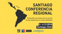 Conference in Santiago, Chile, on 5-6 December 2018, organised by HI to raise awareness in Latin American States on the use of explosive weapons in populated areas and the impact on civilians; }}