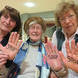 Stop Bombing action