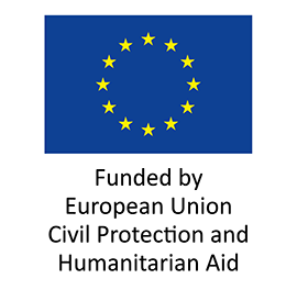 Funded by European Union Civil Protection and Humanitarian Aid logo