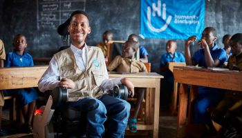 Eddie Ndopu speaks up for inclusive education in Rwanda