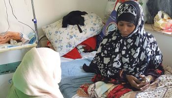 Caught in an horrific bombing, Nora is supported by HI teams in Yemen