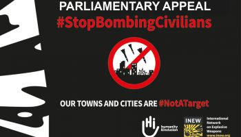 International Parliamentary Appeal to protect civilians from explosive weapons