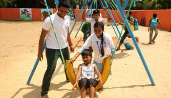 HI opens first-ever inclusive playground in Bangladesh