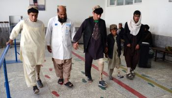 Afghanistan: Rehabilitation centre in Kandahar helps injured and disabled people