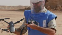 HI tests mine search drones in Northern Chad