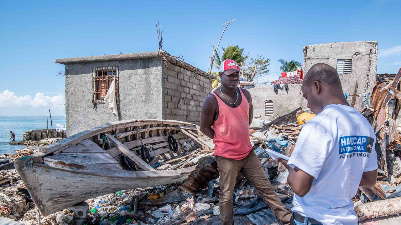 Catastrophic situation in the north west of Haiti