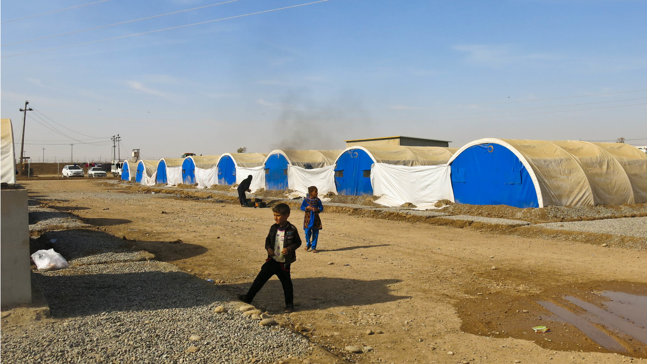 "Mosul: ""The number of displaced people has doubled in the past week"""