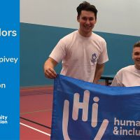 Table tennis champions Jack Hunter-Spivey and Ross Wilson become Ambassadors for Humanity & Inclusion UK