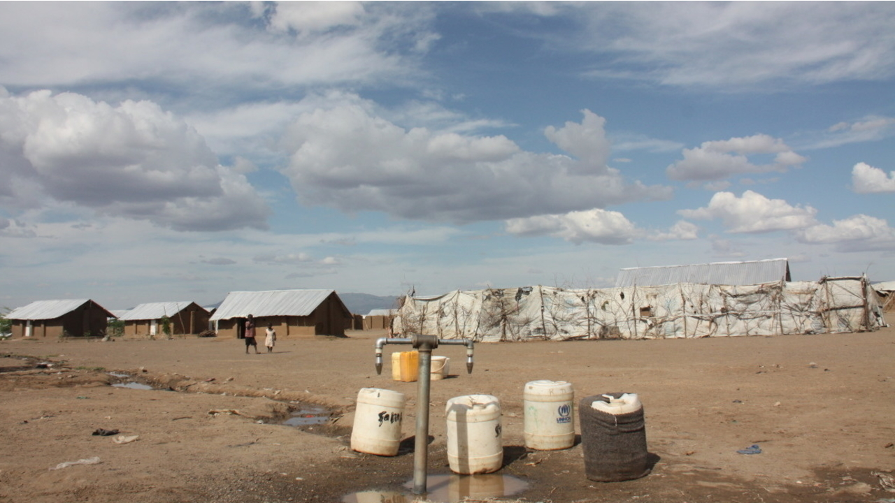 Kakuma refugee camps in Kenya; }}