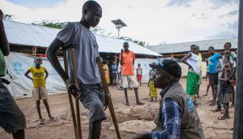 Injured, hungry, and relieved: Refugee crisis in South Sudan