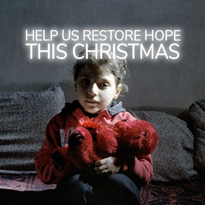 Help us restore hope this Christmas