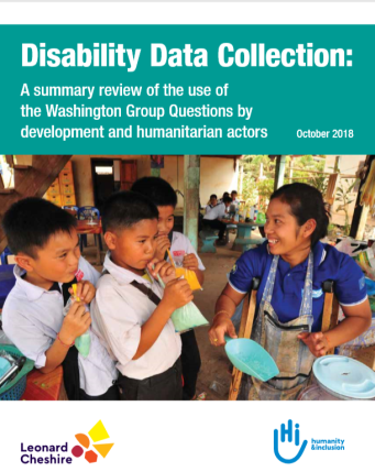 Disability Data Collection report