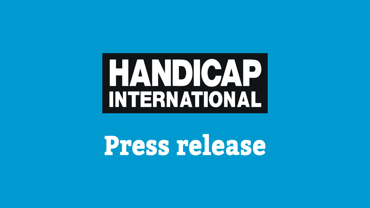 Handicap International - Press release